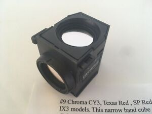 Chroma Cy3 Texas Red Sp Red Olympus Filter Cube U ff Bx63 Bx43 Bx53 Ix3