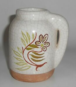 Barbara Willis Pottery Early Provincial Floral Small Jug
