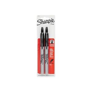 Lot 10 Sharpie Marker Rectactable Fine Point Black 2 pack 32724