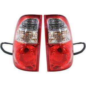 Set Of 2 Tail Light For 2005 2006 Toyota Tundra Lh Rh W Bulb s