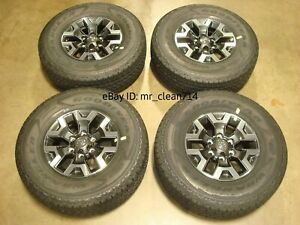 16 16 19 Toyota Tacoma Trd Off Road Wheels Rims Tires Oem Factory 4runner Alloy