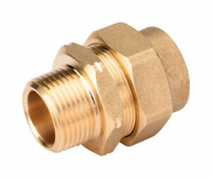 Home flex 3 4 In Male Stainless Steel Male Adapter