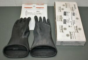 Marigold Rubber Insulating Electrical Gloves Class 0 Size 11 Type I 14 Black
