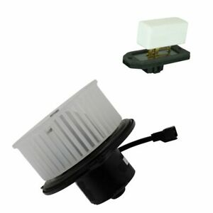 A c Ac Heater Blower Motor W Fan Cage Resistor Kit For Dodge Jeep