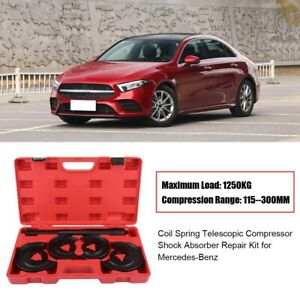 5pcs Coil Spring Telescopic Compressor Shock Absorber Repair Kit For Mb Gm Opel