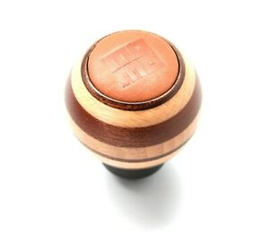 Momo Targa Heritage Mahogany Leather Wood Shift Knob Special Edition