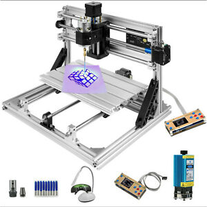 3 Axis Cnc Router 3018 With 500mw Laser With Offline Controller Engraver Machine