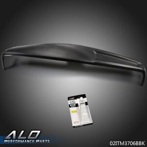 Molded Dash Cover Overlay Black Cap For 2002 2005 Dodge Ram 1500 2500 3500