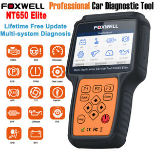 Nt650 Elite Automotive Scanner Abs Airbag Dpf Bms Injector Coding Oil Reset Tool