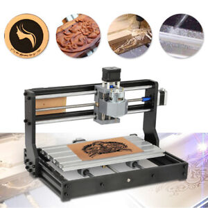 Us Cnc3018 Diy Pvc Pcb Mini Laser Engraving Machine Grbl Control 3 Axis 2500mw