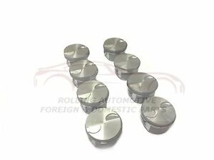 5 3l Chevrolet Gm Gen Iv V Pistons W Rings Flat Top W Valve Relief New Set
