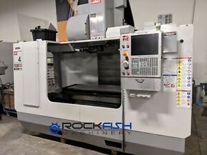 2009 Haas Vf 4 Travel 50x20x25 24 Atc 7500 Rpm P cool And More