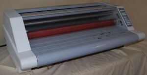Gbc Heatseal Ultima 65 27 Roll Laminator Laminating Machine Works Beautifully