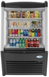36 Open Air Merchandiser Grab And Go Commercial Refrigerator Cooler 13 Cu ft