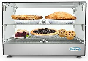 22 Commercial Countertop Food Warmer Display Case Merchandiser 1 7 Cu ft