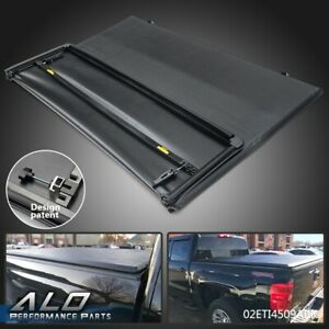 Tri fold Truck Bed Tonneau Cover For 2015 2019 Chevy Colorado gmc Canyon 5ft Bed