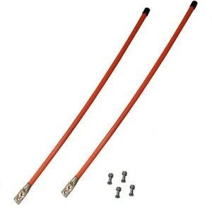 2 Universal Snow Plow Blade Marker Guides Power Plow