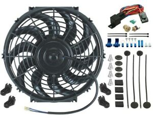12 Inch Electric Radiator Cooling Fan 12v 3 8 Inch Npt Relay Wiring Switch Kit