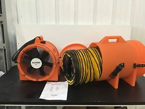 Allegro 9543 25 Confined Space Axial Fan 25 Duct 1 Hp 3450 Rpm 6ptp5