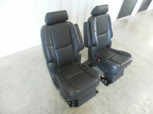 07 08 Escalade Rear Seat Second Row Seats Captain Seat Set 501119