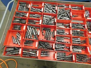 Lot Of 15 Collis 2 Morse Taper Split Sleeve Collets