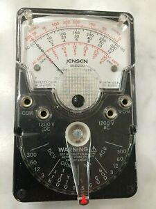 Vintage Jensen Triplett Model 310 j Type 5 Analog Compact Vom With Free Shipping