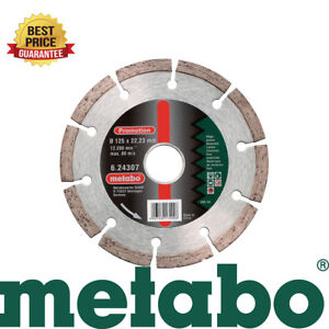 Metabo 624307000 sp 125mm 5 Diamond Angle Grinder Cutting Universal Disc New