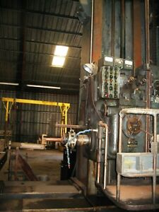 Used Horizontal Boring Mill Giddings And Lewis 1945 Model 560t spindle Size 6