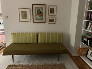 Vintage Mid Century Danish Modern Daybed Settee Sofa 60 S 50 S