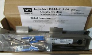 New Hes Assa Abloy 18103458 Folger Adam Electric Strike Modified W 3 4 Keeper