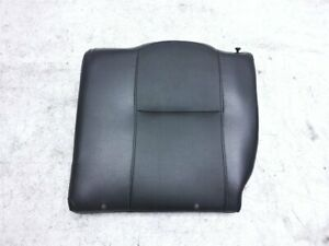2005 2006 Acura Rsx Rear Driver Seat Top Portion Black Leather