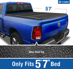 Tyger T5 Hard Cover For 2009 2019 Dodge Ram 1500 5 8ft 69 6in Bed Tonneau Cover