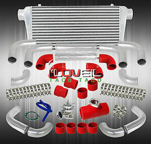 Big Fmic Front Mount Intercooler Blow Off Valve T6061 Piping Kit Couplers