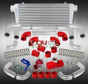31 X11 Big Front Bar Plate Intercooler Chrome Sqv Style Blow Off Valve Pipe