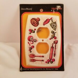 Vintage Kitchen Outlet Wall Plate Cover American Tack Hardware New In Package