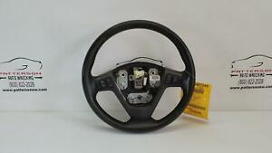 2004 Cadillac Srx Black Leather Steering Wheel W Accessory Buttons
