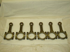 Porsche 993 Connecting Piston Rods Set Of 6 Out Of An Engine With 36k Miles