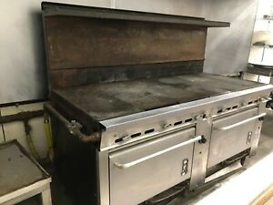 commercial Stove Montague 6 Burner 2 Oven 1993 Model W Manufacturer s Warranty