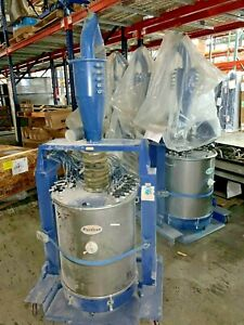 Hr 16 150 Powder Feed Hoppers Nordson Versa Coating Booth Components Fluidized