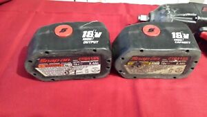 Snap On Ctb4185 18 Volt Bad Batteries For Rebuild Parts 18v High Capacity