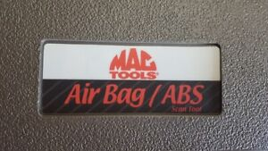 Mac Tools Air Bag And Abs Scanner