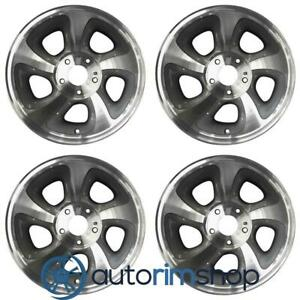 Chevrolet Trailblazer Blazer S10 1998 2004 15 Oem Wheel Rim 12368865 Set Mac