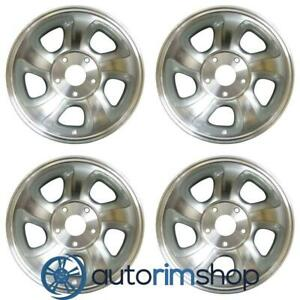 Chevrolet Trailblazer S10 Blazer S10 1998 2004 15 Oem Wheel Rim Full Set Mac