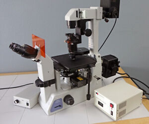 Nikon Eclipse Te200 Inverted Research Fluorescence Microscope With Dic Manual