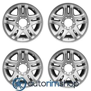 New 17 Replacement Wheels Rims For Toyota Sequoia Tundra 2003 2007 Set Silver 4