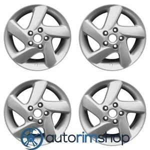 New 16 Replacement Wheels Rims For Mazda 6 2003 2004 2005 Set Silver