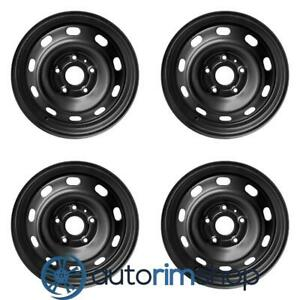 New 17 Replacement Wheels Rims For Dodge Ram 1500 2004 2015 Set Black