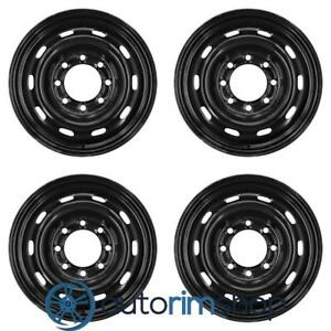 New 17 Replacement Wheels Rims For Dodge Ram 2500 Ram 3500 Set Black 5gy15s4aab