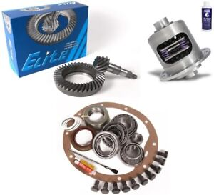 Gm 8 2 Bop Buick Olds Pontiac 3 55 Ring And Pinion Duragrip Posi Elite Gear Pkg