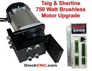Taig Mill Motor Upgrade Brushless Commercial Duty 1hp 750 Watts